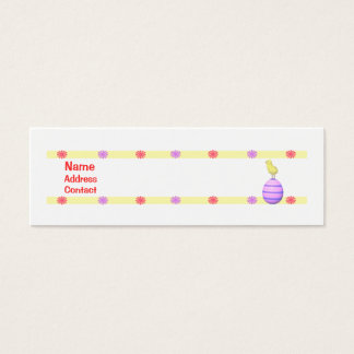 Easter Chick - Skinny Mini Business Card