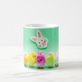 Easter Chicks and Rabbit Toys Decoration Mug