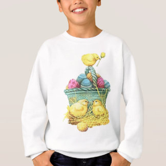 Easter Chicks in Basket Sweatshirt