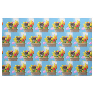 Easter Chihuahua puppy Fabric