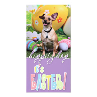 Easter - Chipin Rockwell - Mahne Personalized Photo Card