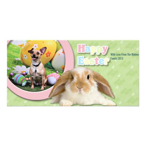 Easter - Chipin Rockwell - Mahne Custom Photo Card