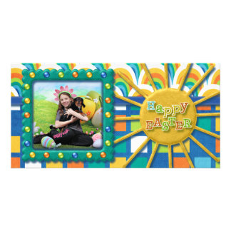 Easter - Chiweenie - Titus Photo Card