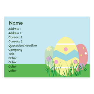 Easter - Chubby Large Business Card