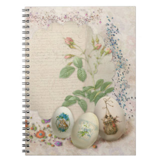 Easter Collage Spiral Notebook