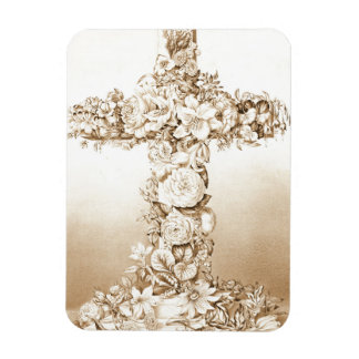 Easter Cross 1869 Magnet