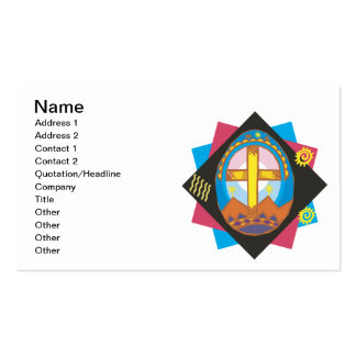 Easter Cross Business Cards