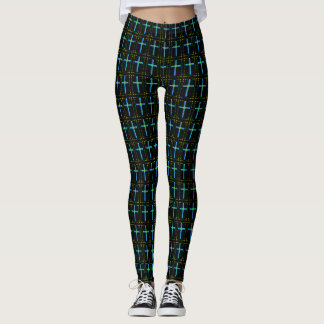 Easter Crosses Leggings