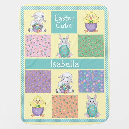 Easter Cutie Baby Blankets