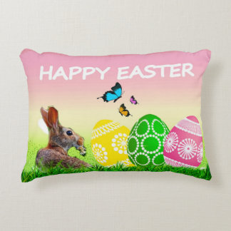 Easter Decorative Accent Pillow