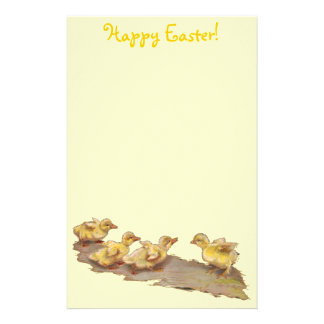 Easter Ducks Stationery