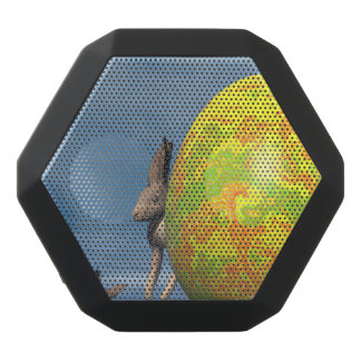Easter egg - 3D render Black Bluetooth Speaker