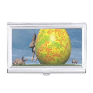 Easter egg - 3D render Business Card Holder
