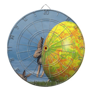 Easter egg - 3D render Dartboard