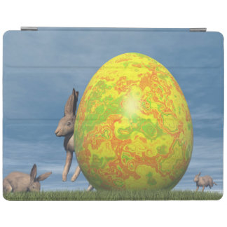 Easter egg - 3D render iPad Cover