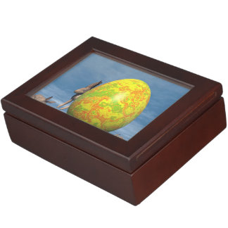 Easter egg - 3D render Keepsake Box