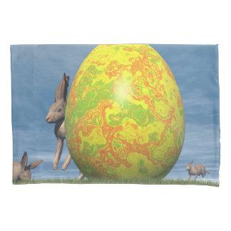 Easter egg - 3D render Pillowcase