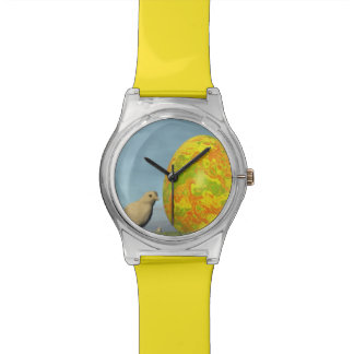 Easter egg and chicks - 3D render Watches