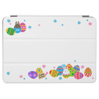 < Easter egg and rabbit pile > Easter Eggs & iPad Air Cover
