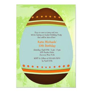 Easter Egg Birthday Party Invitation