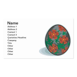 Easter Egg Business Card