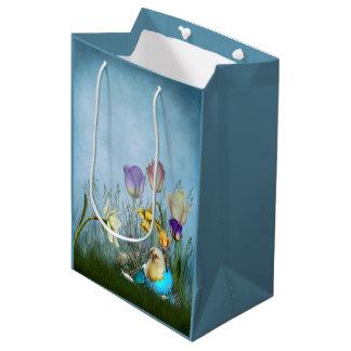 Easter Egg Chicken Medium Gift Bag