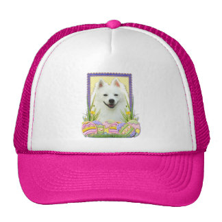Easter Egg Cookies - American Eskimo Trucker Hat