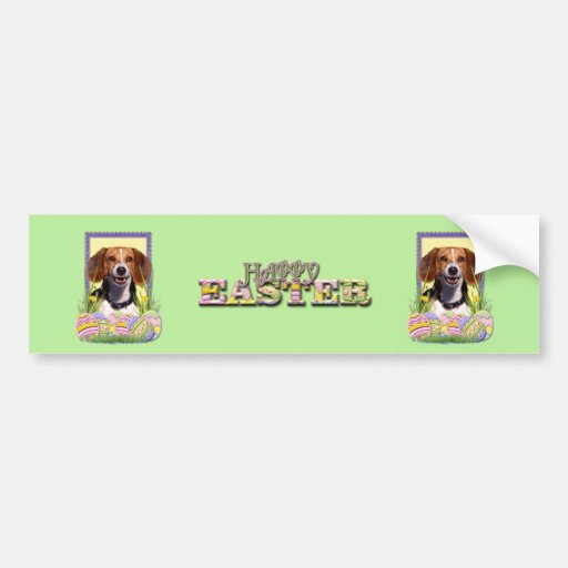 Easter Egg Cookies - Beagle Bumper Stickers