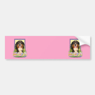 Easter Egg Cookies - Bernese Mountain Dog Bumper Sticker