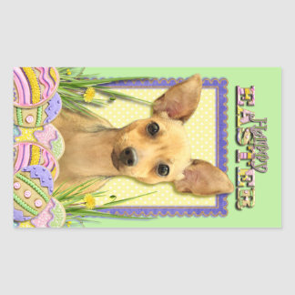 Easter Egg Cookies - Chihuahua - Daisy