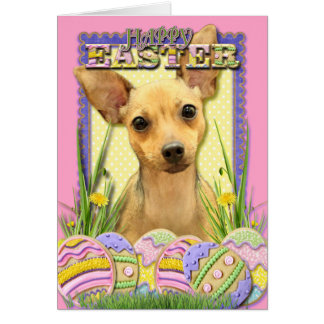 Easter Egg Cookies - Chihuahua - Daisy Card