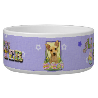 Easter Egg Cookies - Chihuahua - Daisy Dog Food Bowls