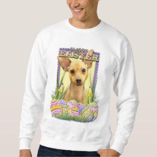 Easter Egg Cookies - Chihuahua - Daisy Sweatshirt