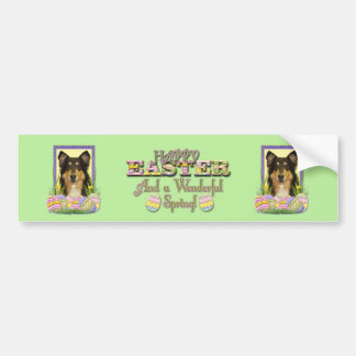 Easter Egg Cookies - Collie Bumper Sticker