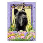 Easter Egg Cookies - Great Dane - Grey Card