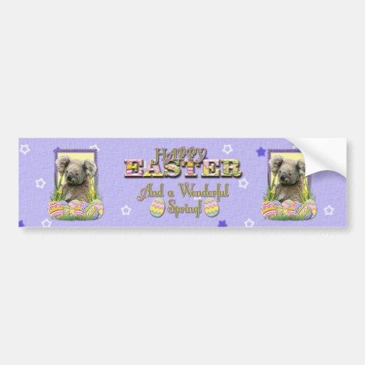 Easter Egg Cookies - Koala Bumper Stickers