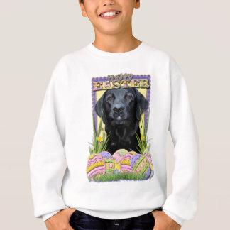 Easter Egg Cookies - Labrador - Black Sweatshirt