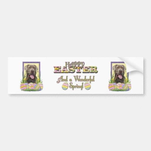 Easter Egg Cookies - Mastiff Bumper Sticker