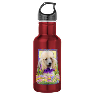 Easter Egg Cookies - Poodle - Champagne 18oz Water Bottle