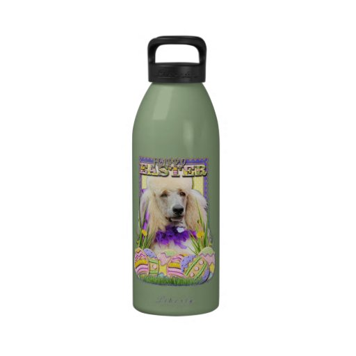 Easter Egg Cookies - Poodle - Champagne Reusable Water Bottle