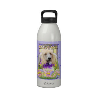 Easter Egg Cookies - Poodle - Champagne Drinking Bottle