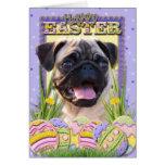 Easter Egg Cookies - Pug