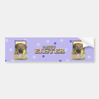 Easter Egg Cookies - Rhodesian Ridgeback Bumper Sticker