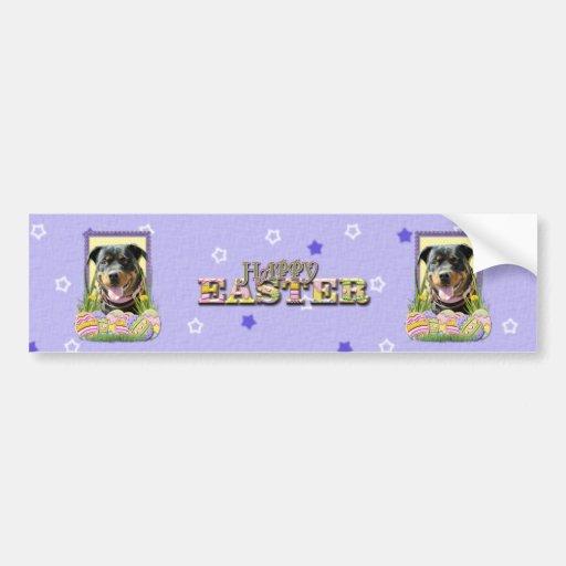 Easter Egg Cookies - Rottweiler Bumper Stickers