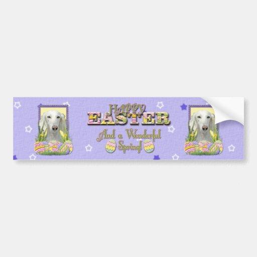 Easter Egg Cookies - Saluki Bumper Stickers