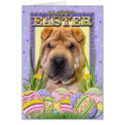 Easter Egg Cookies - Shar Pei Card