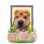 Easter Egg Cookies - Shar Pei Photo Cut Out
