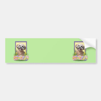 Easter Egg Cookies - ShihPoo Bumper Sticker