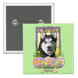 Easter Egg Cookies - Siberian Husky Pins