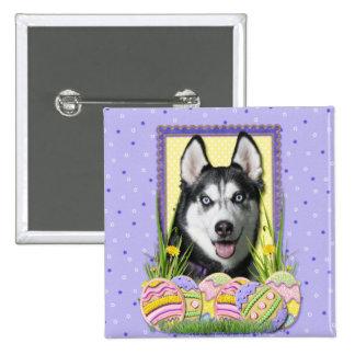 Easter Egg Cookies - Siberian Husky Pin